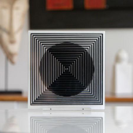 Victor Vasarely (1906-1997)  - Optical sculpture, circa 1970