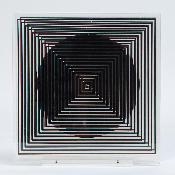Victor Vasarely (1906-1997)  - Optical sculpture, circa 1970