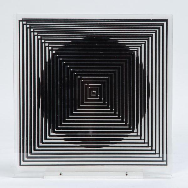 Victor Vasarely (1906-1997)  - Sculpture optique, circa 1970