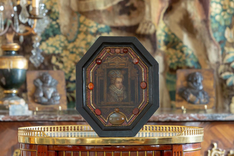 Renaissance portrait of Marguerite de Valois, known as Queen Margot