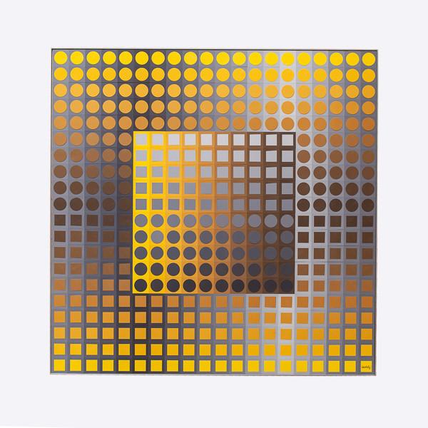 Victor Vasarely (1906-1997)  - Planetary Folkrore N°2, multiple kinetic