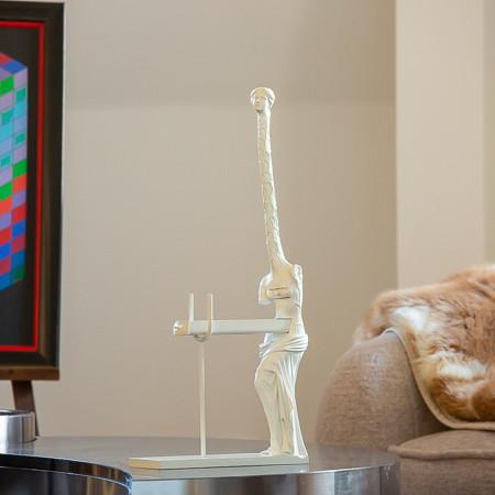 Salvador Dalí (1904-1989)  - La Femme girafe ou Vénus à la girafe, sculpture en bronze