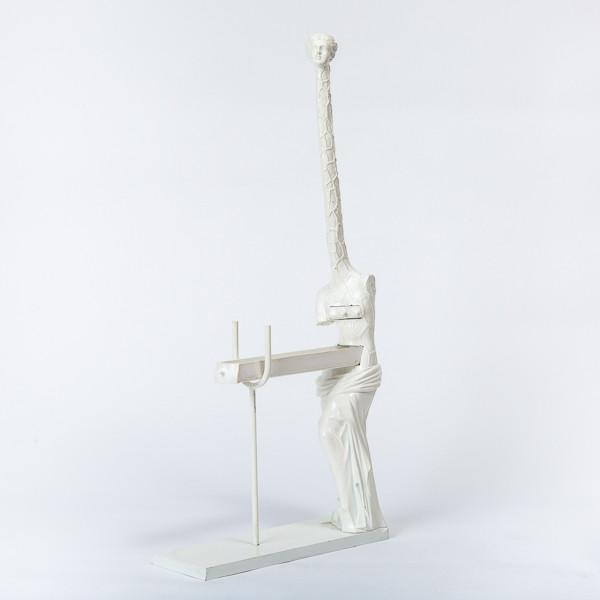 Salvador Dalí (1904-1989)  - Bronze sculpture Woman giraffe or «Venus à la girafe»