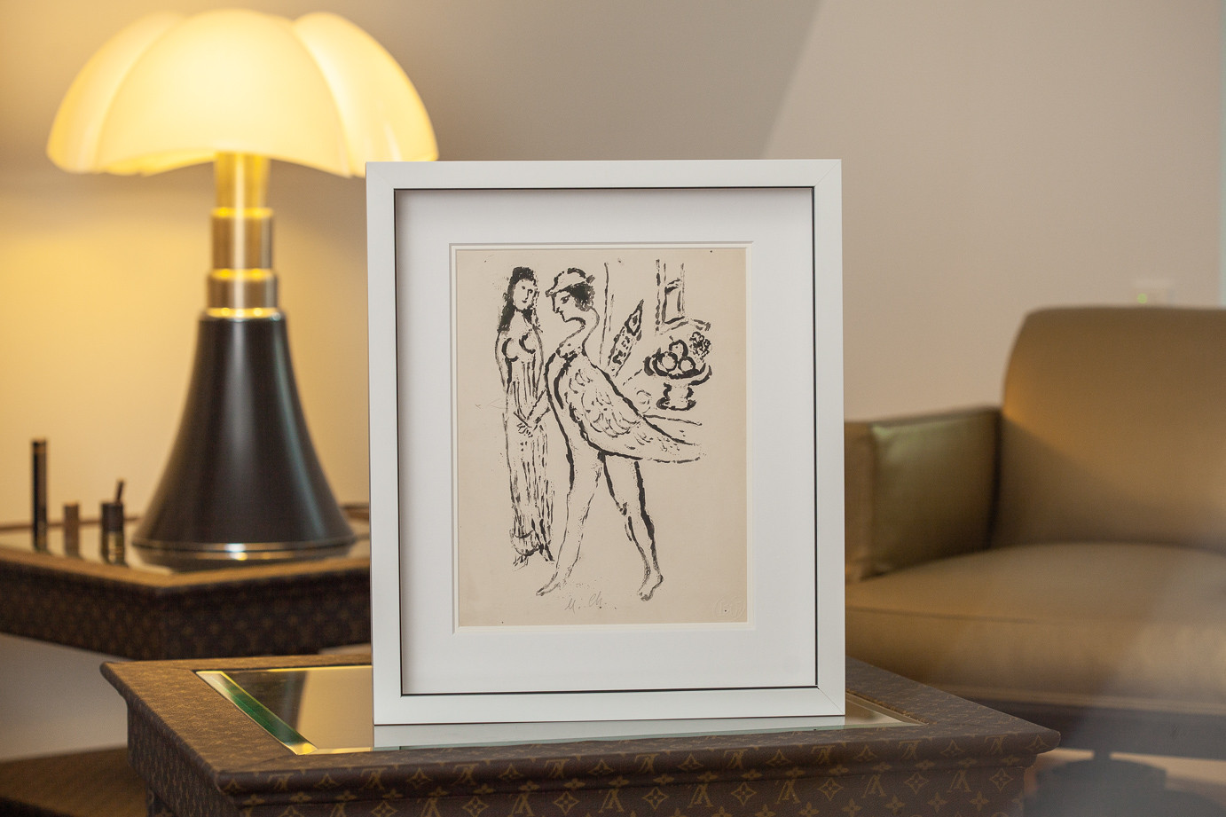 Marc Chagall (1887-1985)  - Etching « Bad subjects », rare trial proof